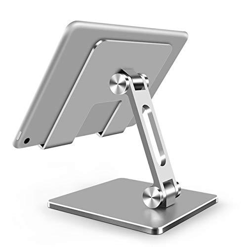 Soporte para Tableta Soporte Plegable Ajustable Accesorios De Soporte Plata