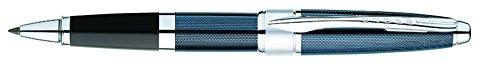 Cruz Apogee, bolígrafo lacado con mecanismo giratorio, gel, color acero frosty