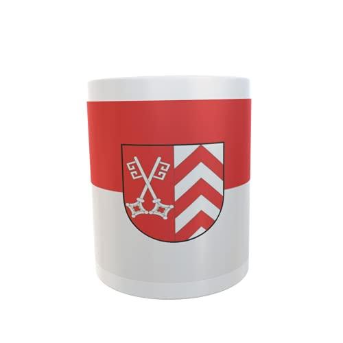 U24 Tasse Kaffeebecher Mug Cup Flagge Landkreis Minden-Lübbecke