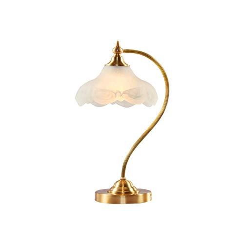 WZHZJ Estilo Europeo, Simple, Dormitorio, del Calor, de Noche, lámpara de Mesa Pastoral luz Caliente de la lámpara Ahorro de energía de la lámpara de América Den Decorativa lámparas de Mesa