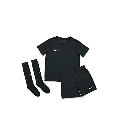 Nike Kinder Dry Park 20 Trikot Set, Black/Black/White, XL