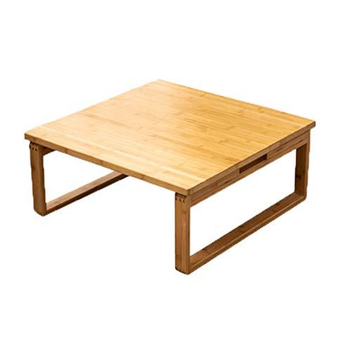 Folding table Klapptisch Home Esstisch Couchtisch Kleiner Tisch einfacher japanischer Balkon niedriger Tisch Gebäcktisch Nachmittagstee Tisch abgerundet und poliert, um Unebenheiten zu reduzieren