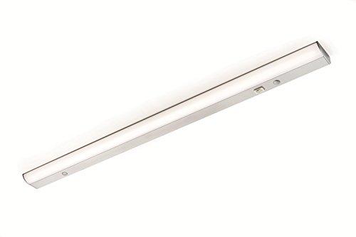 Luminaire LED sous meuble avec interrupteur – Flow | Barre lumineuse 900 mm | Lampe de montage blanc chaud 3000 K | Lampe de cuisine sous meuble | Classe de protection IP20 | 1 pièce