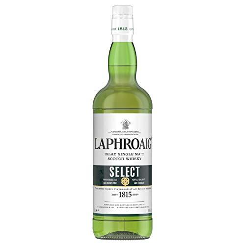 Laphroaig Select Single Malt Whisky Escoces Ahumado, 40%, 700 ml