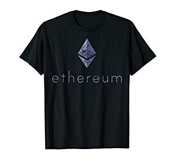 Ethereum Coin Logo Vintage Crypto Currency Money Miner ASIC
