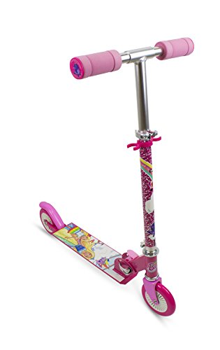 Barbie Dreamtopia OBBD112 Barbie 2 Räder Scooter, Kinderfahrzeug