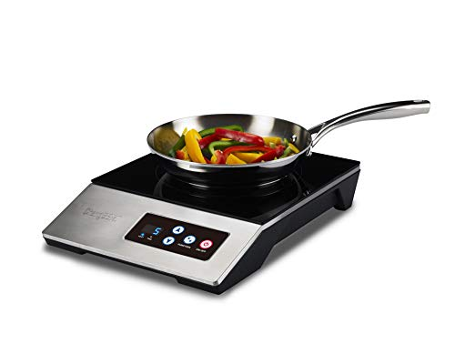 ChangBERT 1800W NSF Certified Portable Commercial  Household Induction Cooktop Pro Chef Professional-Grade High Power Restaurant range Countertop burner with Stainless Steel Housing Induction Cooker