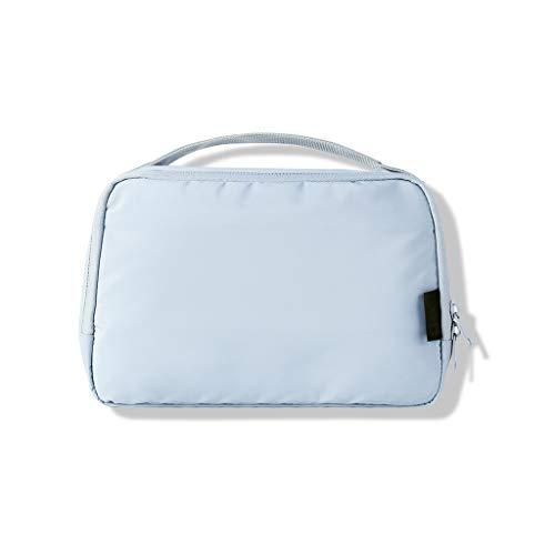 Voyage Essential Wash Sac de cosmétiques imperméable Ins Wind Sac de Stockage Portable Femme Grande capacité Voyage FANJIANI (Color : Light Blue)