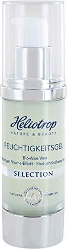 HELIOTROP Naturkosmetik SELECTION Feuchtigkeitsgel, mit Aloe-Vera, Anti-Aging, für einen effektiven Straffungseffekt, 30 ml