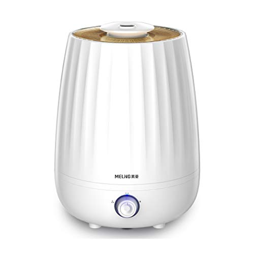 Nologo XiaoXiao Humidificador - Control de Perilla Humidificador Pulverizador de la máquina de aromaterapia Mute Humidificación de Aire/Blanco humidificadores