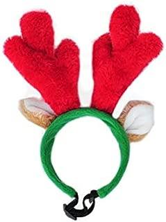 reindeer antler hat for dogs