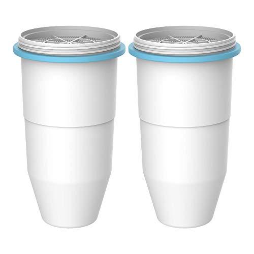Waterdrop ZR-017 Wasserfilter, Kompatibel mit ZeroWater-Krugwasserfilter ZR 017 und ZeroWater Dispenser-Wasserfilter (2)