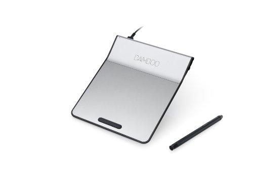 wacom ペン付きタッチパッド USB接続 Bamboo Pad ブラック CTH301K
