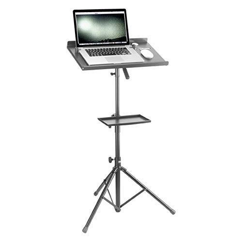 Stagg COS 10 BK Laptop-Ständer mit Ablage