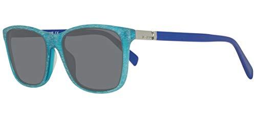 Just Cavalli JC730S 5586A Sunglasses JC730S 86A 55 Rechteckig Sonnenbrille 55, Türkis