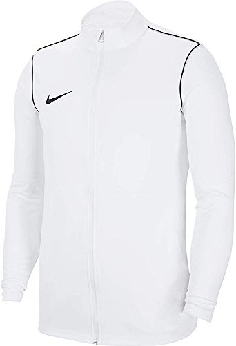Nike Kinder Trainingsjacke Park20 Track Jacket, White/Black/(Black), M, BV6906-100, 16-22