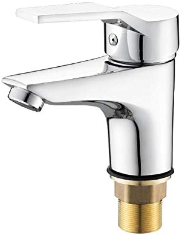 Faucet Wash Basin Copper Basin Faucet Hot and Cold Water Basin Bathroom Washbasin Faucet Single Hole Wash Basin Faucet