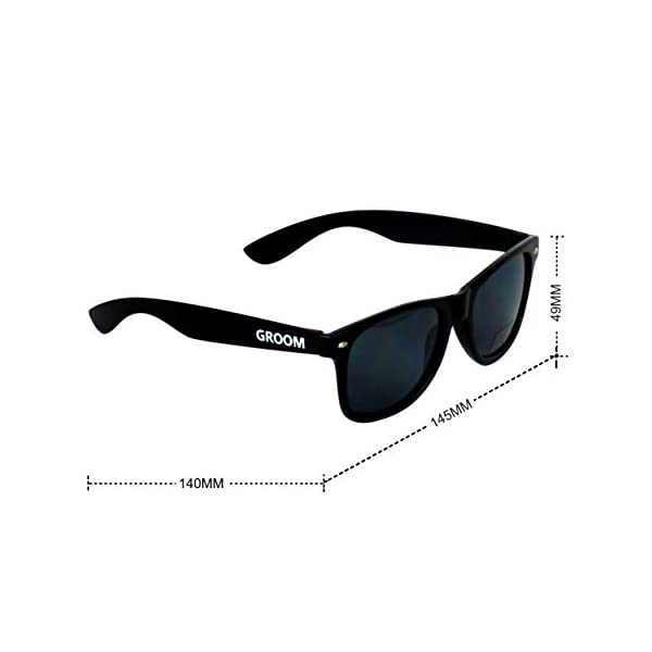 Bachelor Party 7pcs Weddings Gift Sunglasses for Groom, Best man, Groomsman