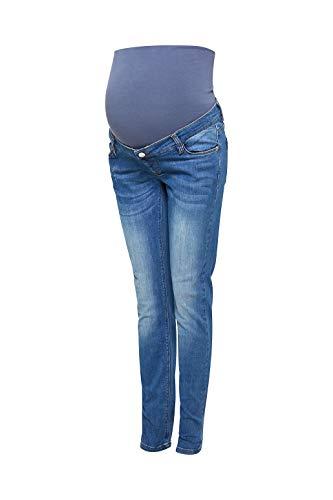 ESPRIT Maternity Stretch-Jeans mit Überbauchbund