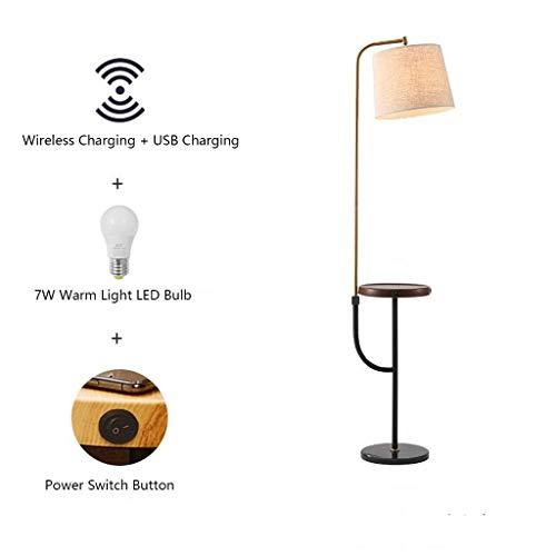 CHOUE Arc Tafellamp met Wireless Charging Pad USB-poorten met universele oogschaduw voor hoog-uplight voor kantoor in bed en woonkamer
