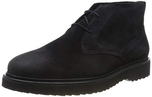 Marc O'Polo Herren 90725424001300 Chukka Boots, Blau (Dark Navy 898), 45 EU