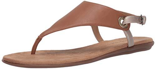 Aerosoles Women's Thong Sandal Flip-Flop, TAN Combo, 6 B (M)