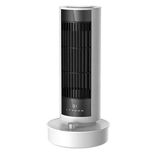 XZDM Elektrische Heizung Space Heater Home Office Desktop-Kleine Stille Elektrische Heizung Kühlung Und Heizung Dual-Use-Fernbedienung Kopf Schüttelt Heizung Geeignet Für White-European