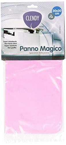 Clendy - Panno Magico, in PVA, 30 x 30 cm, Colori assortiti