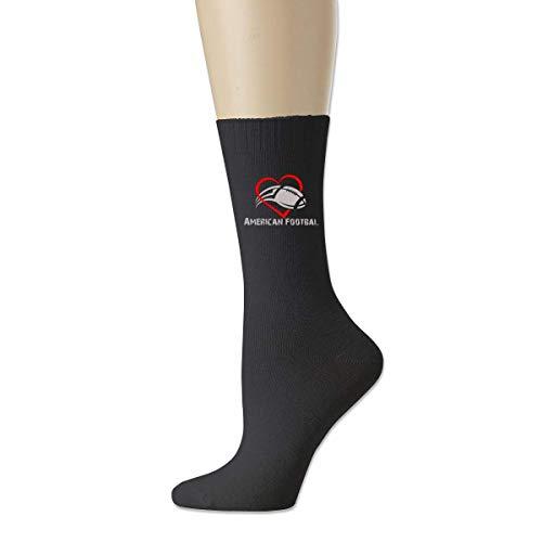 shenguang Love American Football Sports Cotton Crew Calcetines deportivos para hombres y mujeres Calcetines de algodón