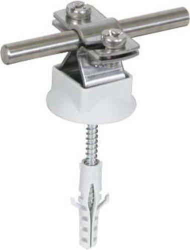 Dehn+Söhne Leitungshalter 274 160 NIRO f. Rd 8-10 mm Leitungshalter für Blitzschutz 4013364123380 (5 Stück Leitungshalter)