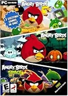 Angry Birds 3 Exciting games in One (Angry Birds, Angry Birds Seasons and Angry Birds Space)