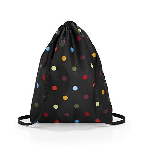 reisenthel Mini Maxi Sac 33 x 43 x 5 cm 15 l, Dots (pois colorés) (Multicolore) - AU7009
