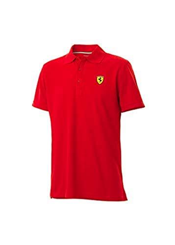 Polo Scuderia Ferrari Oficial Rojo Talla L