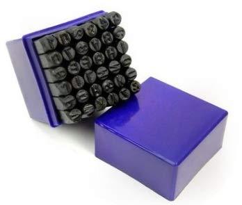 Jadpes Digital Stamping, 36 stuks 6 mm koolstofstaal aantal/hoofdletters stempel punch set voor metaal hout leer kunststof
