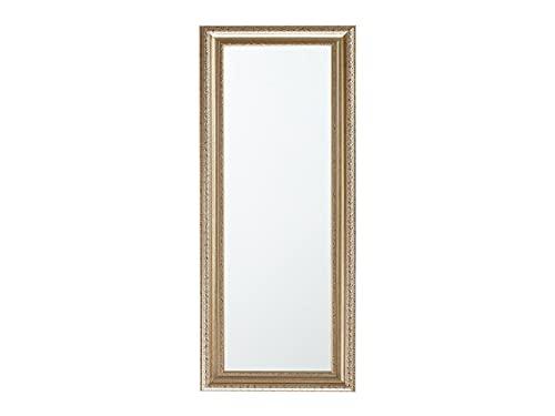 Beliani Espejo de Pared Plateado-Dorado 51x141 cm AURILLAC