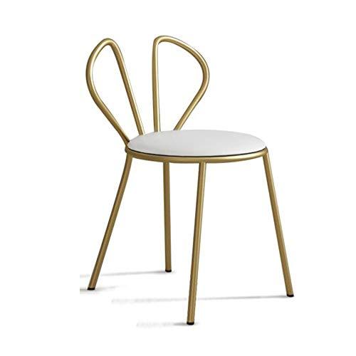 YumEIGE kruk 14,1 × 16,7 × 29,6 inch, lager 100 kg, balkon/woonkamer/slaapkamer/winkel/café, make-up kruk, bank, kruk dressing, stoel
