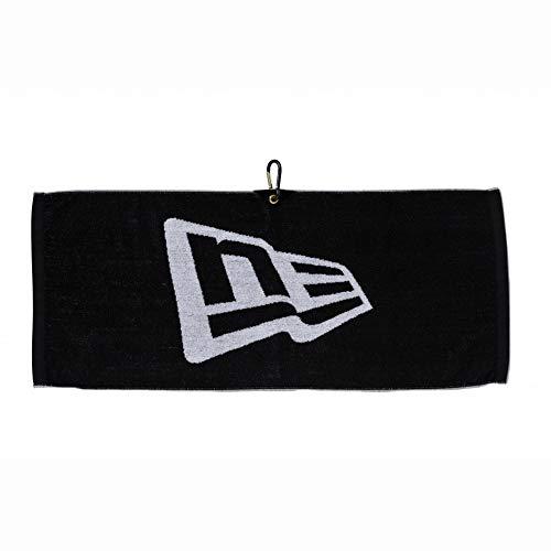 ニューエラ Towel 【ゴルフ】 タオル [カラビナ付き] 11099644 ブラック