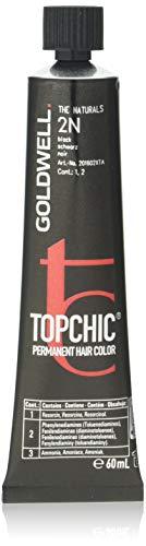 Goldwell Topchic Haarfarbe Schwarz 2N, 1er Pack (1 x 60 ml)
