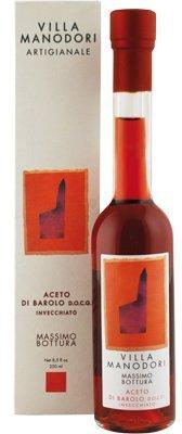 Villa Manodori Artigianale Aged Barolo Wine Vinegar D.O.C.G., 8.5 fl. oz