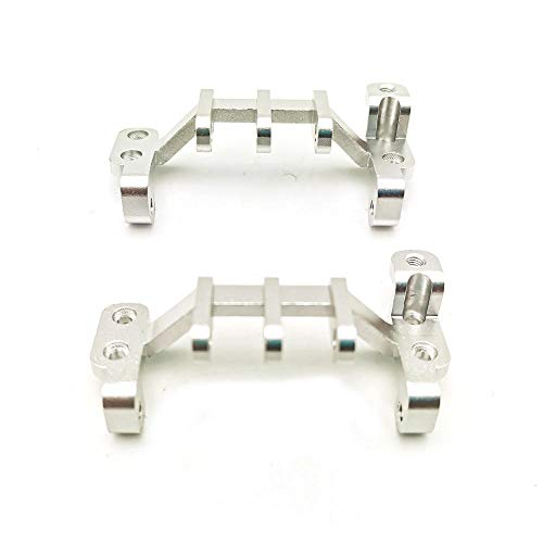DishyKooker rc Spielzeug Auto WPL C34 Common Upgrade Zubehör Traction Link Base für 1/16 Truck RC Car Parts einbauen Silver