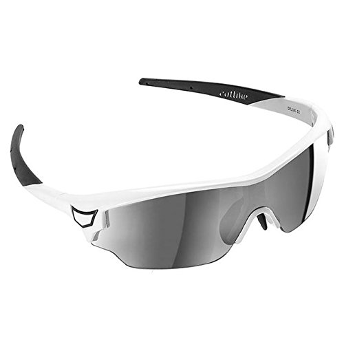 Catlike D'Lux Gafas Ciclismo, Unisex Adulto, Blanco/Negro Br