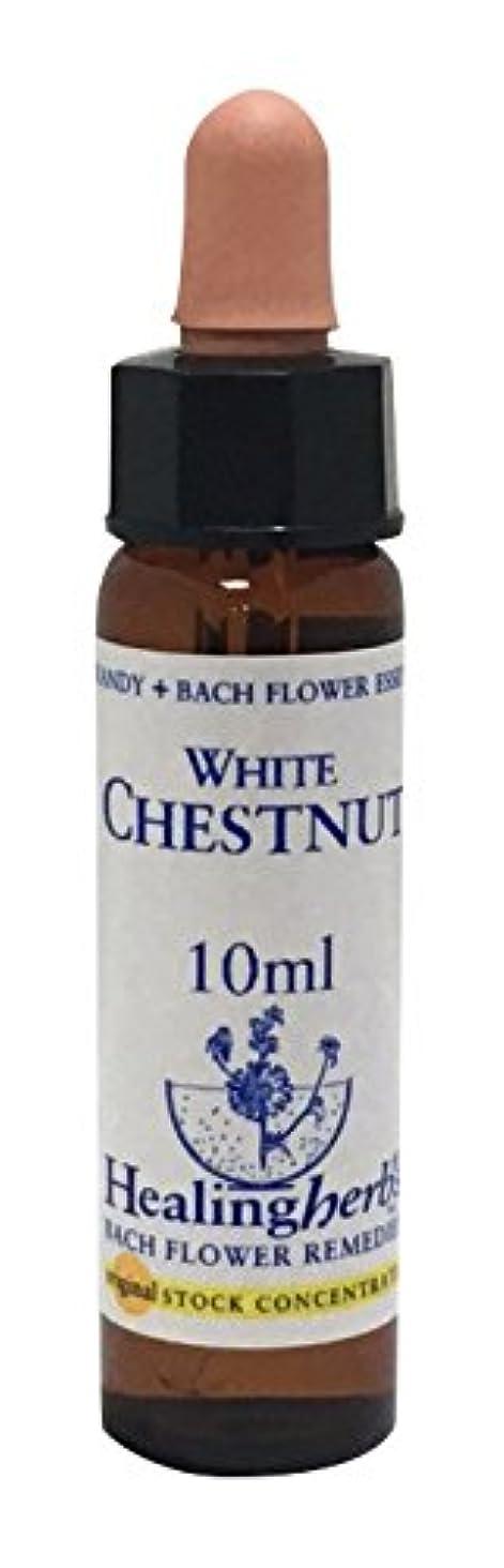 無力白菜穀物ヒーリングハーブス フラワーエッセンス ホワイトチェストナット 10ml