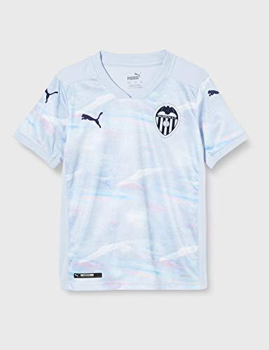 Puma Valencia CF Temporada 2020/21-3rd Shirt Replica Jr Bl Camiseta Tercera Equipación, Niño, Heather Black, 164
