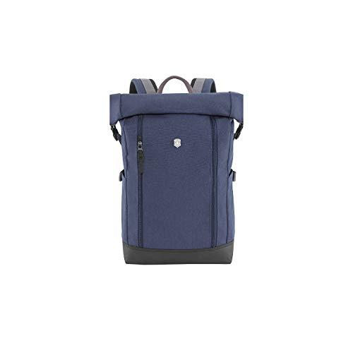 Victorinox Altmont Classic Rolltop Laptop Backpack - Zaino porta PC Laptop 15,4 Pollici - 17x29x47cm - Blu
