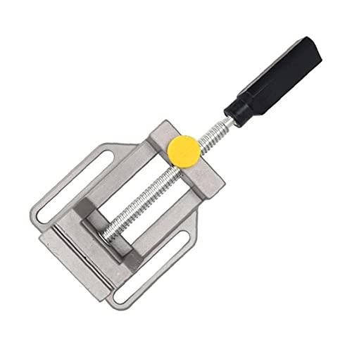 Prensa de taladro de sobremesa Vice Bench Vice Mini plana rápida Alicates Luz portátil para Talla de las herramientas de fresado fijas Máquina Manual Hardware Herramientas