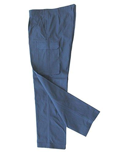 A. Blöchel Originale Bordhose der Deutschen Marine (Tropen) Farbe Pastellblau Verschiedene Größen (18)