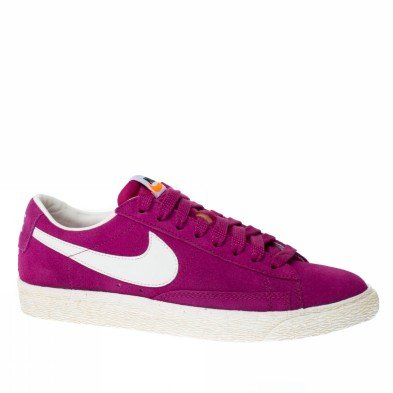 Nike Blazer Low Fuxia/wit 517371