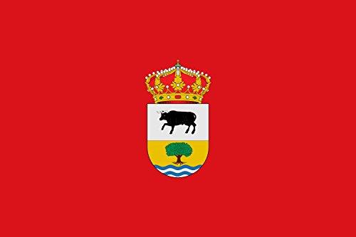 magFlags Bandera Large Municipio de Gargantilla de Lozoya y Pinilla de Buitrago Comunidad de Madrid | Bandera Paisaje | 1.35m² | 90x150cm