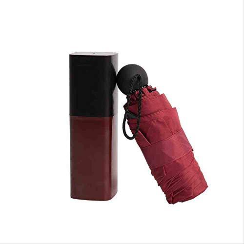 QNBD Mini Tasche Taschenschirm Für Frauen Anti-UV Sonnenschutz Sonnenschirm Kreative wasserdichte...