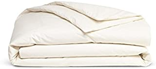 Brooklinen Luxe Duvet Cover – Duvet Cover with Extra-Long Corner Ties and Button Closure – 480 Thread Count Cotton Sateen – 100 Percent Long-Staple Cotton – Oeko-TEX Certified – Cream – King/Cali Ki